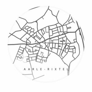 Muurcirkel - Kaart / Plaatsnaam - HIP&STIJLVOL