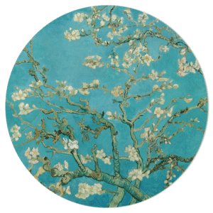 Muurcirkel - Van Gogh Amandelbloesem HIP&STIJLVOL