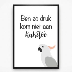 Poster - Kaketoe