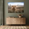 Wandpaneel - Schotsehooglander gras - HIP&STIJLVOL