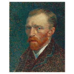 Wandpaneel Van Gogh zelfportret