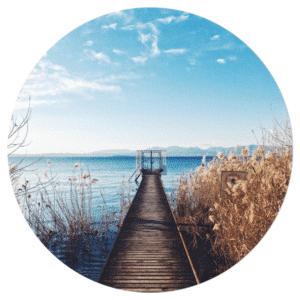 Muurcirkel - De steiger - HIP&STIJLVOL