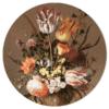 Muurcirkel - Bloemstilleven met bloemenvaas